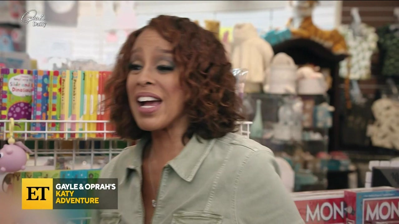 Katy Perry Helps Gayle King Go Shopping for Her Future Grandson