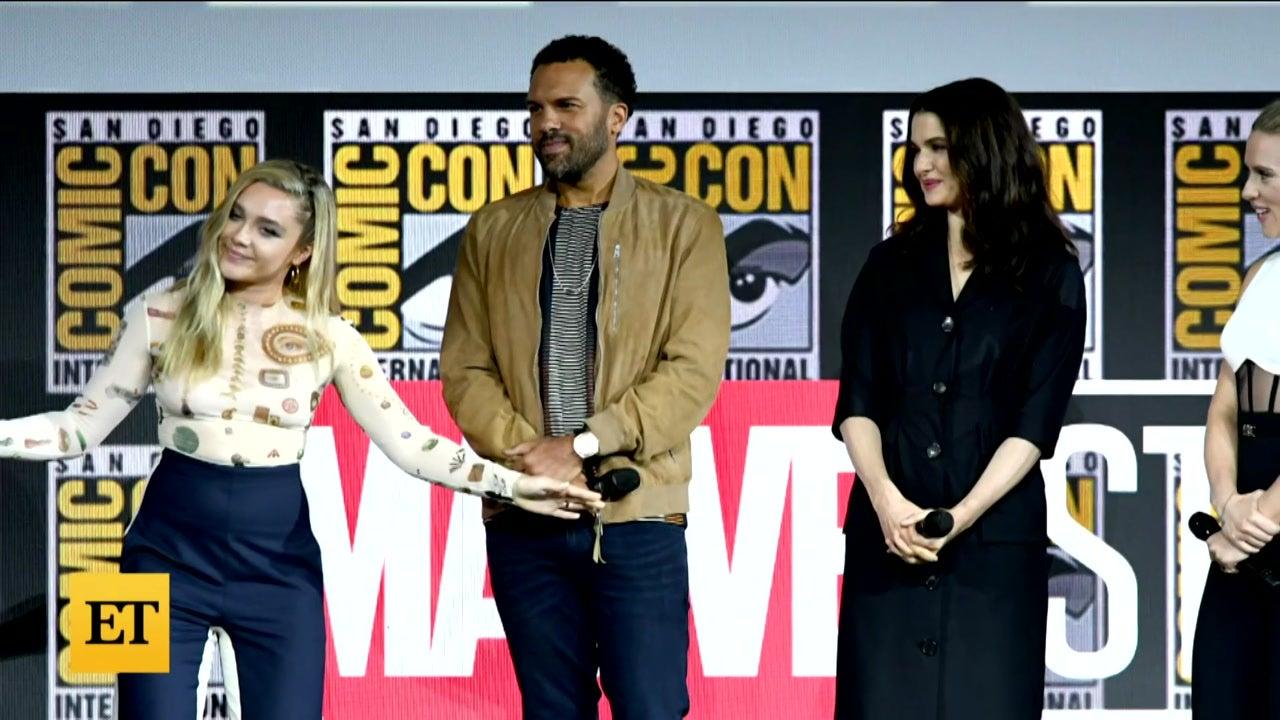 'Black Widow': Scarlett Johansson and Florence Pugh Talk Playing Sisters