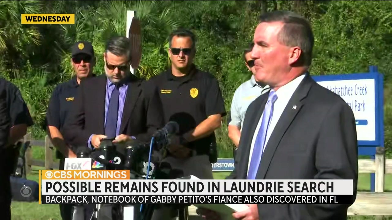 Brian Laundrie's Remains Found by FBI Following Nationwide Search in Gabby Petito Case