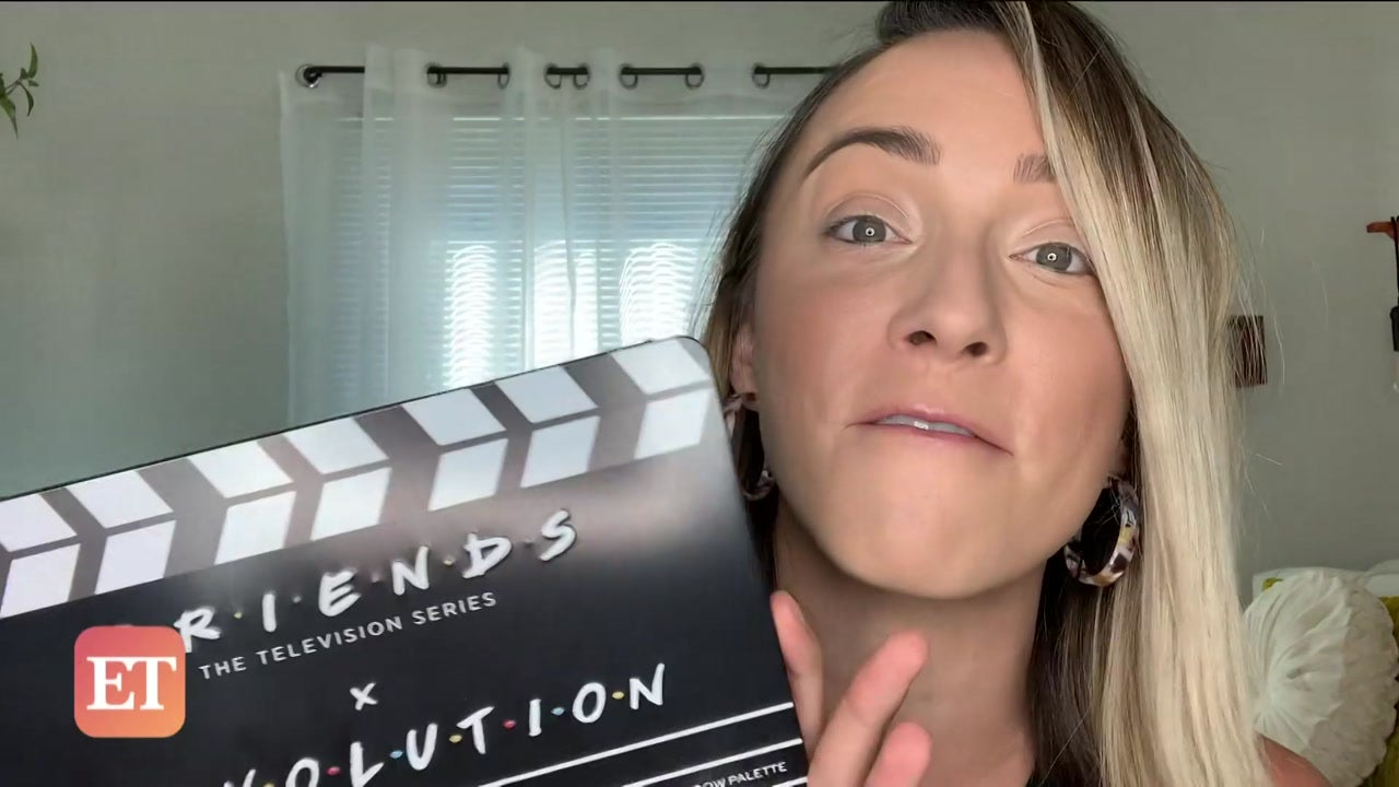 'Friends' x Revolution Collection Honest Makeup Review | ET Style Feed