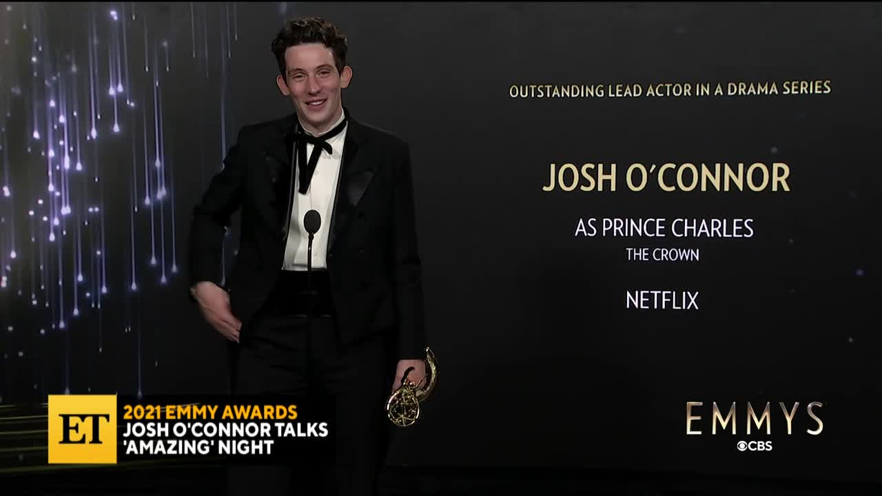2021 EMMYS: Josh O'Connor On 'The Crown's' Wins
