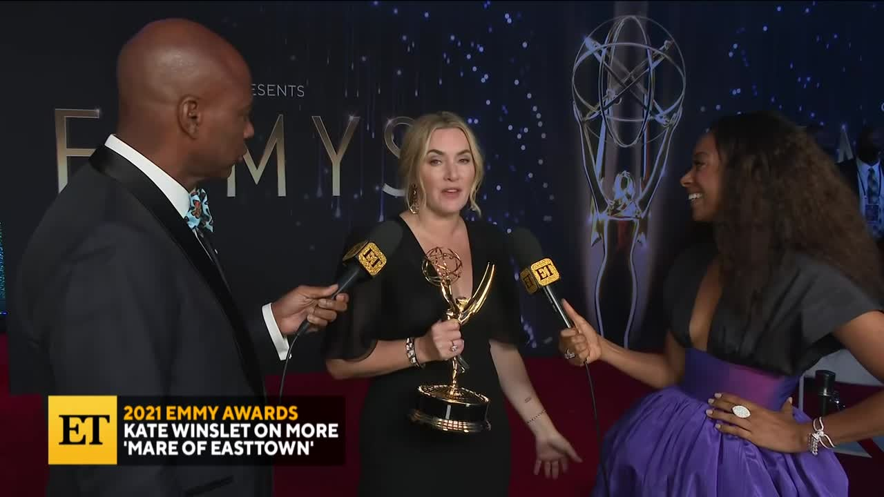 2021 EMMYS: Kate Winslet On More 'Mare of Easttown'