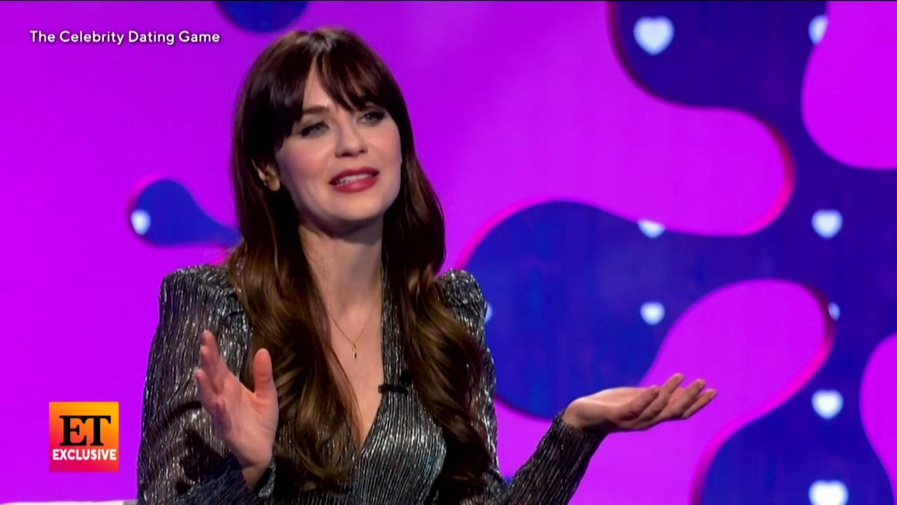 Zooey Deschanel and Michael Bolton Sing Their Way to Your Heart in 'Celebrity Dating Game'